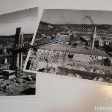 Fotografía antigua: LOTE 2 FOTO FOTOGRAFIAS FABRICA VIDRIERA DE RENEDO DE PIELAGOS CANTABRIA AÑO 1961 (20). Lote 198860310