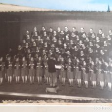 Fotografía antigua: ORFEON SAN ANTON. TEATRO AYALA. 1966. BARACALDO BILBAO. Lote 199063515
