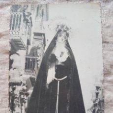 Fotografía antigua: ANTIGUA FOTO POSTAL VIRGEN DE CASTELLON AÑOS 20 PRE GUERRA CIVIL W. Lote 199195225