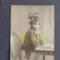 Fotografia antica: FOTOGRAFÍA DE UNA NIÑA - FOTÓGRAFO GARAY (VALLADOLID). Lote 199456921