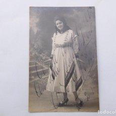 Fotografía antigua: FOTOGRAFÍA ANTIGUA FIRMADA DE ARTISTA A IDENTIFICAR AÑO 1915. ALFONSO MADRID. Lote 199634348