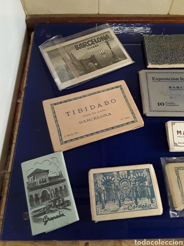 Fotografía antigua: Lote de 10 bloques de varias antiguas postales de España - Foto 2 - 199719785