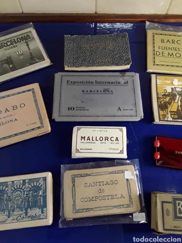 Fotografía antigua: Lote de 10 bloques de varias antiguas postales de España - Foto 3 - 199719785
