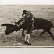 Fotografía antigua: JUAN BELMONTE??, MATADOR DE TOROS. GENIO Y FIGURA, FOTO BALDOMERO (H.1930?). Lote 207098160