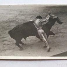 Fotografía antigua: MADRID, PLAZA DE LAS VENTAS. TORERO, GENIO Y FIGURA, FOTO BALDOMERO (H.1930?). Lote 207112876