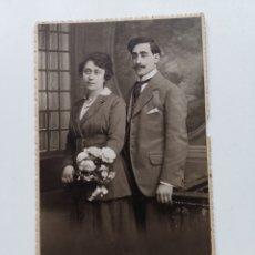 Fotografía antigua: FOTOGRAFÍA DE JUAN DORI Y JOAQUÍNA AMILLS. BIXIO & CIA.. Lote 207133801