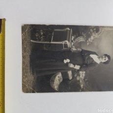 Fotografía antigua: TARJETA POSTAL DE SEÑORA DEL ESTUDIO FOTOGRÁFICO OCTAVIO UNAL DE GIRONA. Lote 207146321