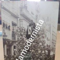 Fotografía antigua: ANTIGUA FOTOGRAFIA SEMANA SANTA CASAU CARTAGENA MURCIA. Lote 208825845