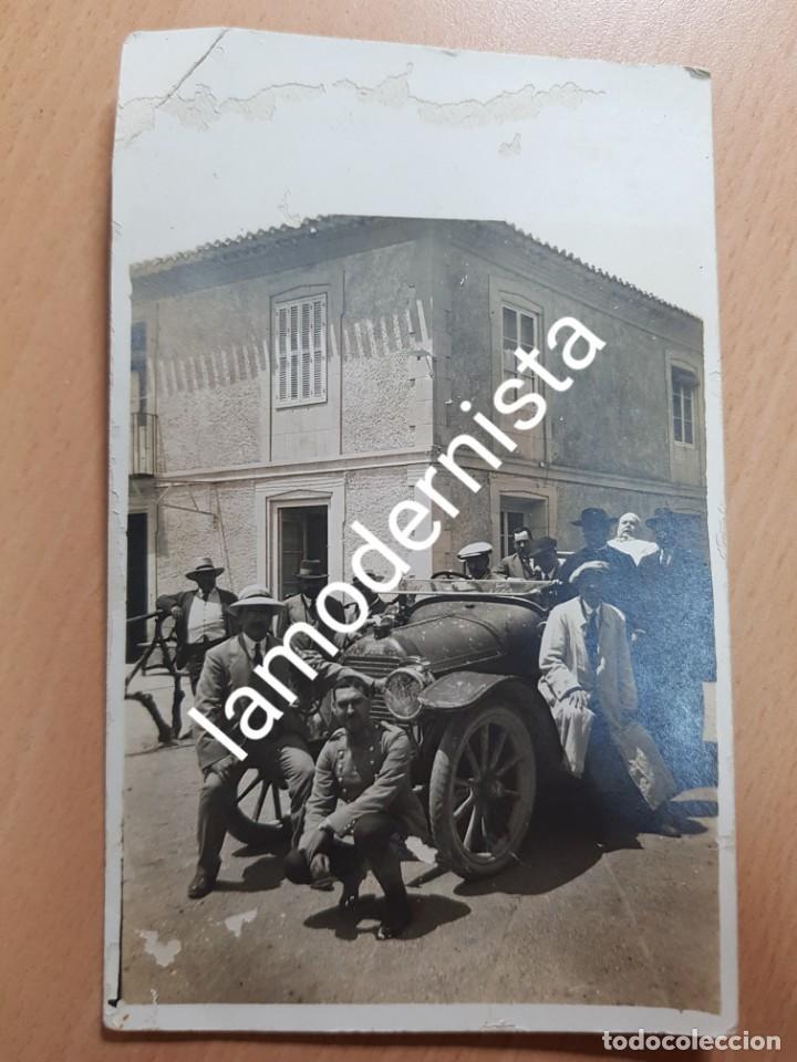 ANTIGUA FOTOGRAFIA POSIBLEMENTE FINCA LA CUBANA ALHAMA DE MURCIA (Fotografía Antigua - Tarjeta Postal)