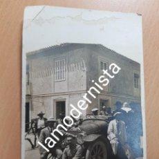 Fotografía antigua: ANTIGUA FOTOGRAFIA POSIBLEMENTE FINCA LA CUBANA ALHAMA DE MURCIA. Lote 209574235