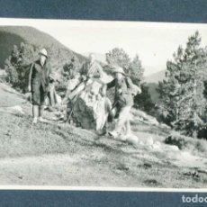Fotografía antigua: TRES EXCURSIONISTAS. ULL DE TER. VALLE. 1924. Lote 211812505