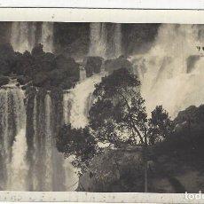 Fotografía antigua: ARGENTINA- MISIONES.- CATARATAS DE IGUAÇU. Lote 213535510