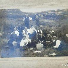 Fotografía antigua: VIGO ISLAS CÍES ANTIGUA FOTOGRAFÍA AÑO 1920. Lote 213600418