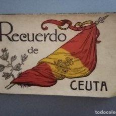 Fotografía antigua: INTERESANTES FOTOTIPIAS DE CEUTA .DE LA EMPRESA DE ARTES GRÁFICAS HAUSER Y MENET (1890-1979). Lote 213706756