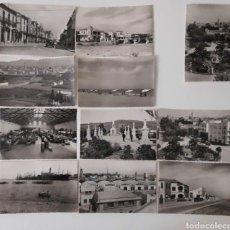 Fotografía antigua: 11 POSTALES DE GANDIA DE LOS AÑOS 50. DE EDICIONES GARCIA GARRABELLA ZARAGOZA.. Lote 214833935