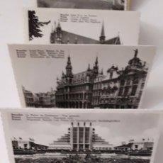 Fotografía antigua: 10 POSTALES ANTIGUAS DE BRUSELAS.. Lote 214834162