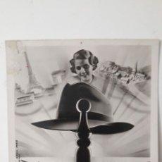 Fotografía antigua: POSTAL FRANCESA ANTIGUA DE LA QUILLE.. Lote 214835447