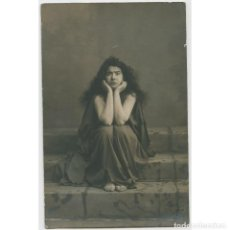 Fotografía antigua: MARGARITA XIRGU - ACTRIZ. FOTO: AMADEO, BARCELONA. 1915 APROX.. Lote 215840243