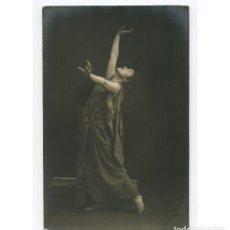 Fotografía antigua: MARGARITA XIRGU - ACTRIZ. FOTO: AMADEO, BARCELONA. 1915 APROX.. Lote 215840330