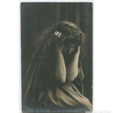 Fotografía antigua: MARGARITA XIRGU - ACTRIZ. FOTO: AMADEO, BARCELONA. 1915 APROX.. Lote 215840367