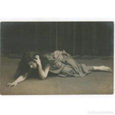 Fotografía antigua: MARGARITA XIRGU - ACTRIZ. FOTO: AMADEO, BARCELONA. 1915 APROX.. Lote 215840587