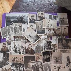 Fotografia antiga: LOTE 120 FOTOGRAFIA Y 41 POSTALES FOTGRAFICAS FAMILIA,PLAYA AÑOS 30-40. Lote 218115115