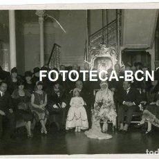 Fotografía antigua: FOTO ORIGINAL SAN SEBASTIAN BODA ALTA BURGUESIA AÑO 1925. Lote 218207801