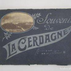 Fotografía antigua: SOUVENIR DE LA CERDAGNE - EDITION DE LA MARQUE - ÁLBUM CON 15 FOTOS ANTIGUAS - AÑOS 20. Lote 218219587