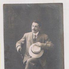 Fotografia antica: FOTOGRAFÍA. UN JOVEN, SEGURAMENTE EMIGRANTE, EN MÉXICO. Lote 218745957