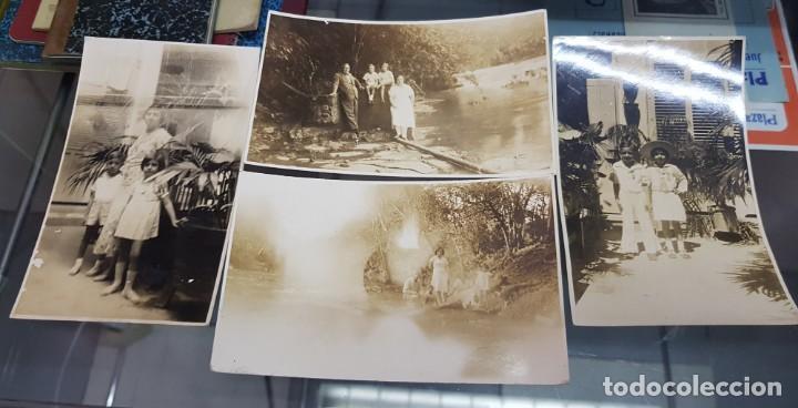 ANTIGUAS FOTOGRAFIAS DE LORENZO RUBIO Y FAMILIA EN CUBA ALHAMA DE MURCIA (Fotografía Antigua - Tarjeta Postal)