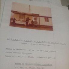 Fotografía antigua: FOFOGRAFIA AÑOS 70. PUESTO PRIMEROS AUXILIOS. DESTACAMENTO DE LA FUENTE DE SAN ESTEBAN. Lote 221415322
