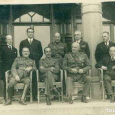 Fotografía antigua: MADRID 1925. ALFONSO XIII Y GOBIERNO PRIMO DE RIVERA. CALVO SOTELO Y GENERAL FANJUL.. Lote 221668198
