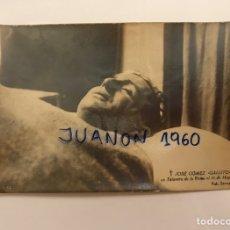 Fotografía antigua: POST MORTEM FOTOGRAFIA. JOSE GÓMEZ GALLITO - JOSELITO - EL GALLO, TALAVERA (A.1920). Lote 221710997