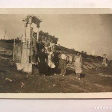 Fotografía antigua: FOTOGRAFÍA. CRUCES, PILONES Y CASILICIOS DE LA CUEVA SANTA, SEGORBE ALTURA CASTELLON (A.1932). Lote 221957291