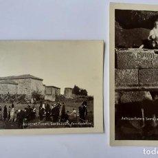 Fotografía antigua: NOYA, POSTALES FOTOGRAFICAS ANTIGUAS.. Lote 222561631