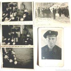 Fotografía antigua: KRIEGSMARINE MUERTE PHOTOS REICHSKRIEGFAHNE WEHRMACHT ALEMANIA NAZI TERCER REICH WWII. Lote 223136085