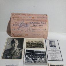 Fotografía antigua: LUFTWAFFE STERBILDER FOTO GEHALT HERMANN GÖRING ALEMANIA NAZI ESVASTICA TERCER REICH WEHRMACHT NSDAP. Lote 223642433