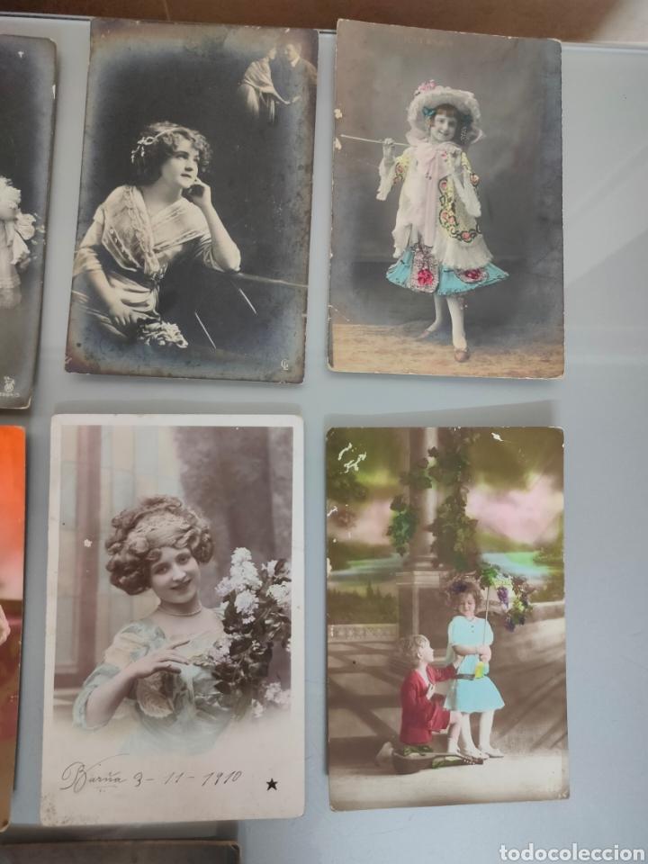 Fotografía antigua: LOTE 10X ANTIGUAS POSTALES 1910 A 1920 - Foto 3 - 226117221