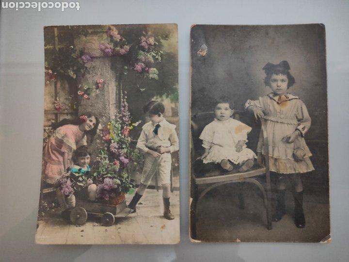 Fotografía antigua: LOTE 10X ANTIGUAS POSTALES 1910 A 1920 - Foto 4 - 226117221