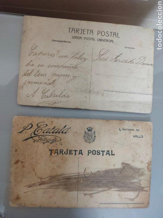 Fotografía antigua: LOTE 10X ANTIGUAS POSTALES 1910 A 1920 - Foto 8 - 226117221