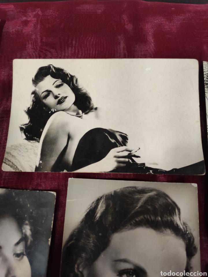 Fotografía antigua: Seis artístas de Hollywood - Foto 3 - 226119472