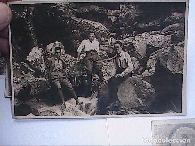 Fotografía antigua: LOTE DE 4 FOTOGRAFIAS 1922-1925. AGUDES Y PARQUE NATURAL DEL MONTSENY. - Foto 4 - 230692575