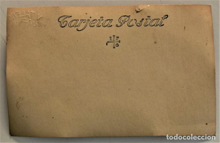 Fotografía antigua: DOS POSTALES ANTIGUAS DE MUJER CON DISFRAZ (¿CARNAVAL?) - FOTÓGRAFO V. TALENS DE JÁTIVA (VALENCIA) - Foto 3 - 233580315