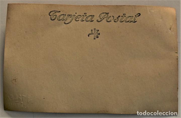 Fotografía antigua: DOS POSTALES ANTIGUAS DE MUJER CON DISFRAZ (¿CARNAVAL?) - FOTÓGRAFO V. TALENS DE JÁTIVA (VALENCIA) - Foto 5 - 233580315