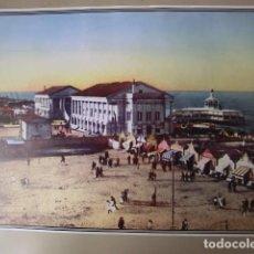 Fotografía antigua: LAMINA. EL BALNEARIO DE LAS ARENAS. N. 2 MEMORIA GRÁFICA DE VALENCIA. DIARIO LEVANTE. Lote 235092510