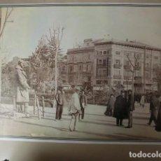 Fotografía antigua: LAMINA. LA PLAZA DE EMILIO CASTELLAR. N. 21. MEMORIA GRÁFICA DE VALENCIA. DIARIO LEVANTE. Lote 235201435