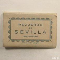 Fotografía antigua: RECUERDO DE SEVILLA - SERIE PRIMERA - EDICIONES ARRIBA ZARAGOZA - 10 FOTOGRAFIAS - 10X6,5. Lote 236180675