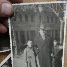 Fotografía antigua: FOTOGRAFÍA ANTIGUA ABUELO Y NIÑA VALENCIA. PAPEL-87. Lote 236510470