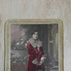Fotografía antigua: POSTAL CARTÓN COLOREADA PHOTO-GILARDI. VALENCIA. NO CIRCULADA. Lote 237325615