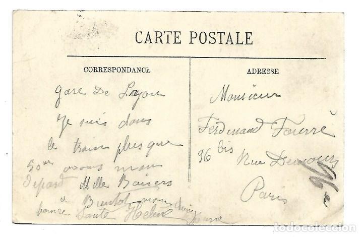 Fotografía antigua: 3501- PARIS.- INUNDACIONES 1910.-POSTAL ANTIGUA- AVENUE LEDRU-ROLLIN - DE 1910.CIRCULADA - Foto 2 - 237746205